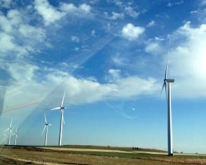 Windmills across Kansas